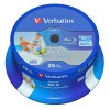 EUR 12,29 - Verbatim DataLife Blu-ray Disc BD-R 25 GB / 135 min 6x, Full printable, 25 St�ck in Cakebox