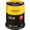 EUR 14,99 - CD-R 80 Min/700 MB Intenso 52x  in Cakebox 100 Stk